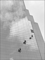 """From """"Miami in Black and White"""" series<br /> Bank of America Tower<br /> Miami, FL"""