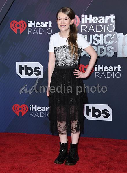 11 March 2018 - Inglewood, California - Ashley Gerasimovich . 2018 iHeart Radio Awards held at The Forum. Photo Credit: Birdie Thompson/AdMedia