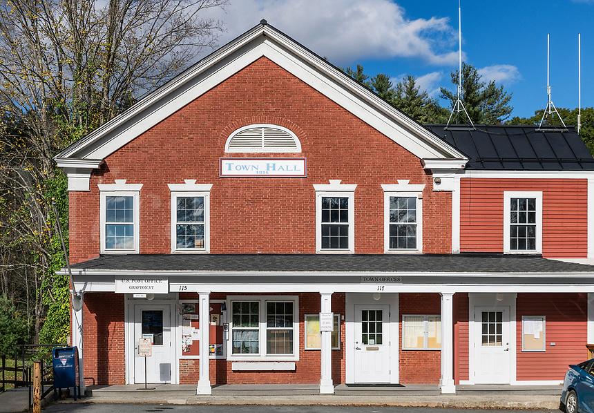 Town Hall, Grafton, Vermont, USA.