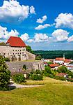Deutschland, Bayern, Chiemgau: Burg und Ort Tittmoning | Germany, Bavaria, Chiemgau: castle and town Tittmoning
