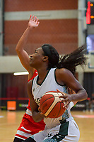 Nicole Elabosi (33) of Nigeria pictured during a basketball game between Nigeria and Puerto Rico on Friday 28 th of May 2021 in Kortrijk , Belgium . PHOTO SPORTPIX.BE   SPP   STIJN AUDOOREN