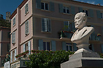 Paul Arene. Sisteron France statue French writer Poet France 2017