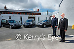 John O'Rahilly and Sean Lynch, Hogan's Funeral Home, Tralee.