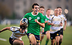 September 17, 2021; Notre Dame men's rugby program celebrates its 60th year anniversary with a 38 to 7 victory over Purdue University at Stinson Rugby Field.  (Photo by Barbara Johnston/University of Notre Dame)