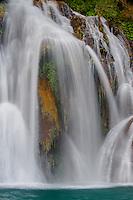 Navajo Falls, in spring, Havasupi Reservation, Arizona.