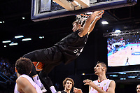New Zealand Tall Blacks' Tom Abercromble in action during the FIBA World Cup Basketball Qualifier - NZ Tall Blacks v Syria at TSB Bank Arena, Wellington, New Zealand on Sunday 2 2018. <br /> Photo by Masanori Udagawa. <br /> www.photowellington.photoshelter.com