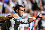 Gareth Bale of Real Madrid celebrates during their La Liga match between Real Madrid and Deportivo Leganes at the Estadio Santiago Bernabéu on 06 November 2016 in Madrid, Spain. Photo by Diego Gonzalez Souto / Power Sport Images