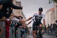 Jonathan Castroviejo (ESP/SKY) at the Team presentation in La Roche-sur-Yon<br /> <br /> Le Grand Départ 2018<br /> 105th Tour de France 2018<br /> ©kramon