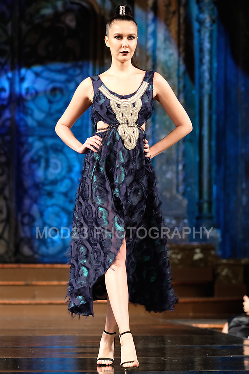 Alexandra Popescu-York at ArtHearts New York Fashion Week