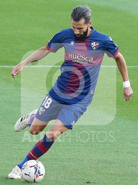 SD Huesca's Dimitrios Siovas during La Liga match. September 30,2020. (ALTERPHOTOS/Acero)