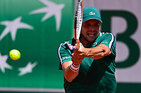 30th May 2021; Roland Garros, Paris, France; French Open Tennis championships, day 1;  Gregoire Barrere Fra