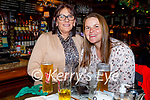 Rita Greensmyth and Denise Lynch enjoying the evening in the Grand Hotel on Thursday.