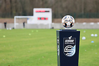 Match ball pictured before a female soccer game between FC Femina White Star Woluwe and Sporting Charleroi on the 10 th matchday of the 2020 - 2021 season of Belgian Scooore Womens Super League , Saturday 19 th of December 2020  in Woluwe , Belgium . PHOTO SPORTPIX.BE | SPP | SEVIL OKTEM