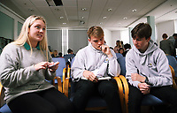 School event at Canolfan Cadogan Centre, Mount Pleasant Campus in Swansea, of the University of Wales Trinity St David's. Wednesday 04 October 2017