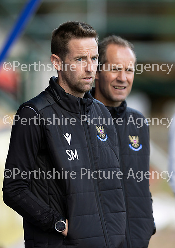 St Johnstone FC…..<br />Coaches Steven MacLean and Alec Cleland<br />Picture by Graeme Hart.<br />Copyright Perthshire Picture Agency<br />Tel: 01738 623350  Mobile: 07990 594431