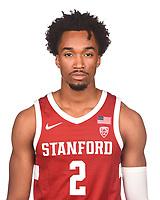 Stanford Basketball M Portraits, October 3, 2019