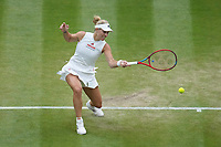 6th July 2021, Wimbledon, SW London, England; 2021 Wimbledon Championships  day 8;  Angelique Kerber , Germany