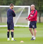 Niko Kranjcar and Mark Warburton
