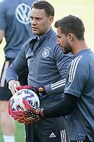 Manuel Neuer (Deutschland Germany), Kevin Trapp (Deutschland Germany) - Innsbruck 01.06.2021: Abschlusstraining Deutsche Nationalmannschaft