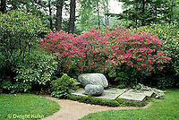 AC34-017c  Flower Garden - Japanese style garden