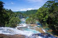 Agua Azul Cascades, near Palenque, Mexico