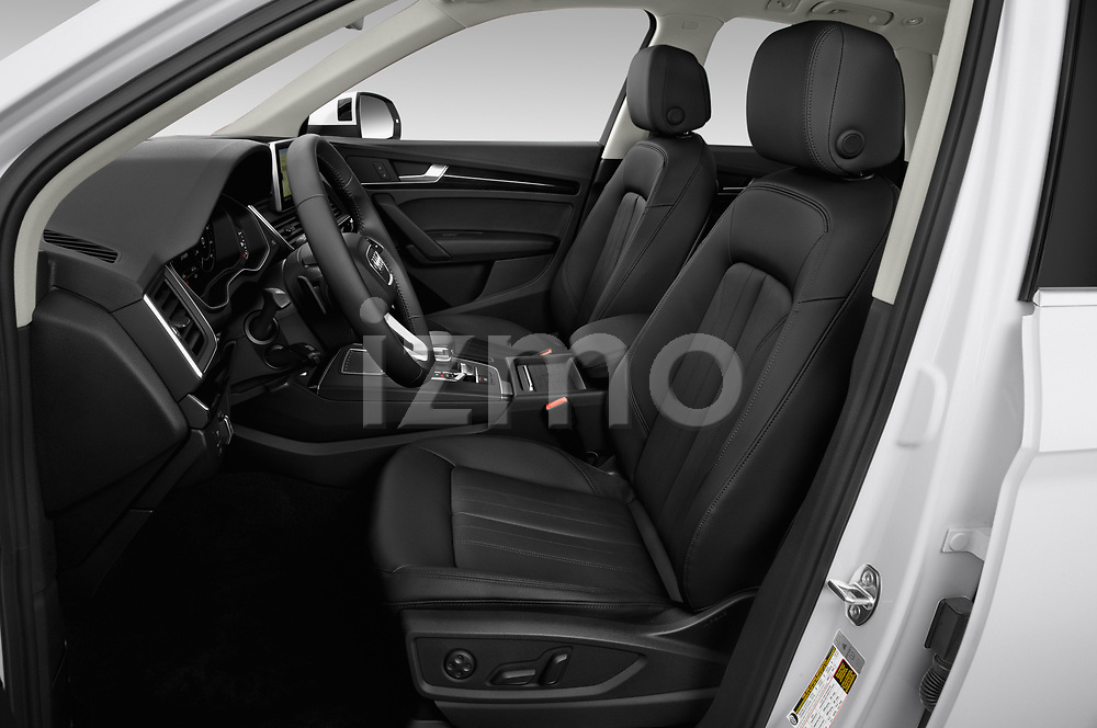 Front seat view of a 2020 Audi Q5 Premium 5 Door SUV front seat car photos