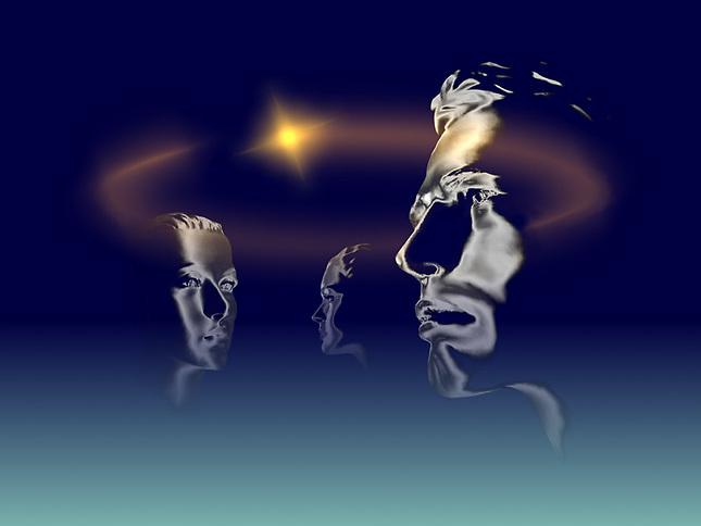 Heads sharing informantion