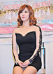 Jun Hyo Seong (Secret),, Jun 14, 2013 : Tokyo, Japan: Jun Hyo Seong of the South Korean girl band Secret attends a press conference in Tokyo, Japan, on June 14, 2013.