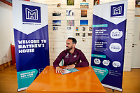 Pictured: Leon Britton with Thom Lynch project manager at Matthews house. Thursday 06 September 2018