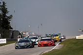 #86 Michael Shank Racing with Curb-Agajanian Acura NSX, GTD: Katherine Legge, Alvaro Parente, #93 Michael Shank Racing with Curb-Agajanian Acura NSX, GTD: Lawson Aschenbach, Justin Marks