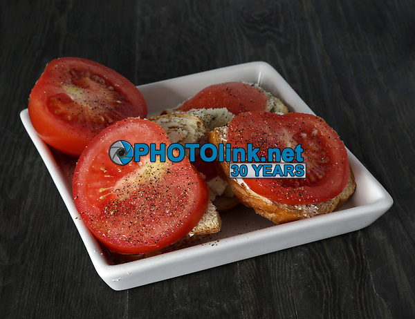 Tomatoes, Mayo & Pepper<br /> Photo By Adam Scull/PHOTOlink.net