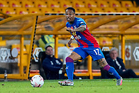 30th October 2020; Molineux Stadium, Wolverhampton, West Midlands, England; English Premier League Football, Wolverhampton Wanderers versus Crystal Palace; Nathaniel Clyne of Crystal Palace breaks along the wing