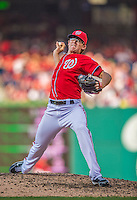 8 June 2013: Washington Nationals pitcher Tyler Clippard on the mound against the Minnesota Twins at Nationals Park in Washington, DC. The Twins edged out the Nationals 4-3 in 11 innings. Mandatory Credit: Ed Wolfstein Photo *** RAW (NEF) Image File Available ***