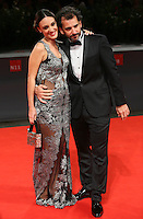 Martina Gusman, left, and Pablo Trapero  attends the red carpet for the premiere of the movie 'El Clan' during the 72nd Venice Film Festival at the Palazzo Del Cinema in Venice, Italy, September 6, 2015.<br /> UPDATE IMAGES PRESS/Stephen Richie