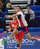 GBR v Iceland Womens 2010 European Handball Championships Qualifier