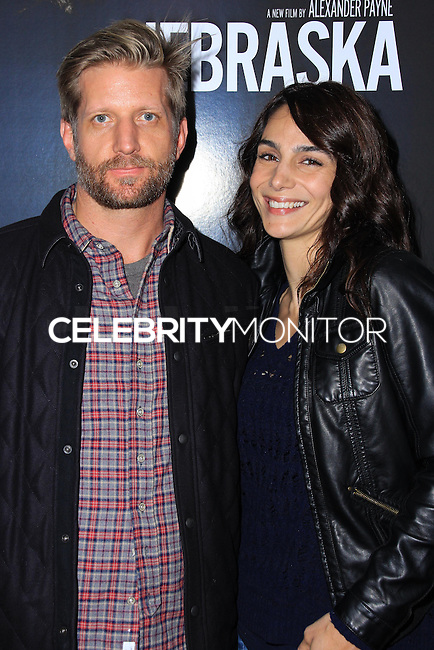 """NEW YORK, NY - NOVEMBER 06: Paul Sparks, Annie Parisse New York Special Screening of Paramount Pictures' """"Nebraska"""" held at Paris Theater on November 6, 2013 in New York City. (Photo by Jeffery Duran/Celebrity Monitor)"""