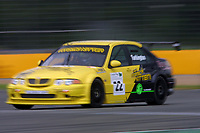 Round 4 of the 2002 British Touring Car Championship. #22 Colin Turkington (GBR). Team Atomic Kitten. MG ZS.