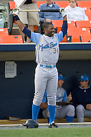 Heyward, Jason 1377.jpg. Carolina League Myrtle Beach Pelicans at the Frederick Keys at Harry Grove Stadium on May 13th 2009 in Frederick, Maryland. Photo by Andrew Woolley.