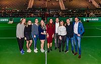Rotterdam, The Netherlands, 17 Februari 2019, ABNAMRO World Tennis Tournament, Ahoy, Team Vincent van Heijningen<br /> Photo: www.tennisimages.com/Henk Koster