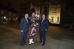 First Minister Alex Salmond accompanied by Fiona Hyslop, Cabinet Secretary for Culture and External Affairs and Humza Yousaf, Minister for External Affairs and International Development hosted the annual reception for the Consular Corps within the great Hall, Edinburgh Castle<br /> Pic Kenny Smith, Kenny Smith Photography<br /> 6 Bluebell Grove, Kelty, Fife, KY4 0GX <br /> Tel 07809 450119,