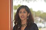 Writer and activities Sehba Sarwar splits her time between Houston and her homeland of Pakistan.