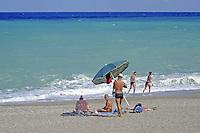 - Sicilia,  la spiaggia di Capo d'Orlando (Messina)<br /> <br /> - Sicily, the beach of Capo d'Orlando (Messina)