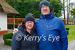 Enjoying a stroll in the Killarney National park on Friday, l to r: Eileen O'Shea and John Thompson.