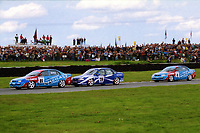 1993 British Touring Car Championship. Race action.
