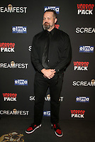 HOLLYWOOD, CA - OCTOBER 12: Bucky Sinister, at the 21st Screamfest Opening Night Screening Of The Retaliators at Mann Chinese 6 Theatre in Hollywood, California on October 12, 2021. Credit: Faye Sadou/MediaPunch