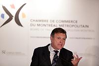 Marc parent<br /> , CEO, CAE speak before the Montreal Board of Trade, Friday April 29, 2016<br /> <br /> Photo : Pierre Roussel - Agence Quebec Presse<br /> <br /> <br /> <br /> <br /> <br /> <br /> <br /> <br /> .