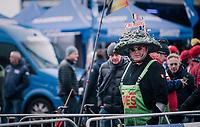 Belgian Cauberg fan<br /> <br /> Women U23 Race<br /> UCI CX Worlds 2018<br /> Valkenburg - The Netherlands