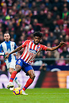 Thomas Teye Partey of Atletico de Madrid in action during the La Liga 2018-19 match between Atletico de Madrid and RCD Espanyol at Wanda Metropolitano on December 22 2018 in Madrid, Spain. Photo by Diego Souto / Power Sport Images