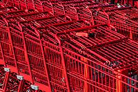 Shopping cart detail.