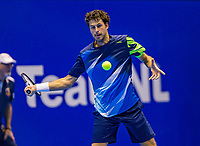 Rotterdam, Netherlands, December 17, 2017, Topsportcentrum, Ned. Loterij NK Tennis, Final man's single: Robin Haase (NED)<br /> Photo: Tennisimages/Henk Koster